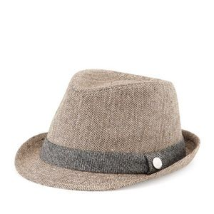 Andy & Evan Accessories - Monte Carlo Houndstooth Fedora — Andy and Evan